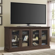 "Altra Bennett 70""  TV Console with Glass Doors, Medium Oak (1784196PCOM)"