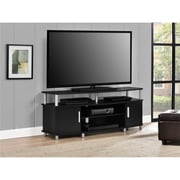 """Ameriwood Home Carson TV Stand, Black, For TVs up to 50"""" (1195496PCOM)"""
