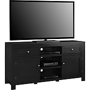 """Ameriwood Home Hadley TV Stand, Black, For TVs up to 60"""" (1787096PCOM)"""