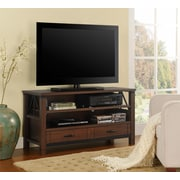 """Ameriwood Home Buchannan Ridge TV Stand, Cherry, For TVs up to 50"""" (1741096)"""