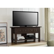 "Altra Pillars Apothecary 55"" TV Stand and Console Table, Cherry (1225096PCOM)"