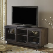"Ameriwood Home Englewood TV Stand for TVs up to 55"", Dark Gray Oak (1222213PCOM)"