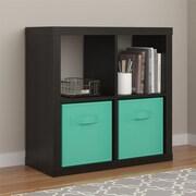 Altra Parsons Hollow Core 4 Cube Organizer, Espresso (7682296COM)