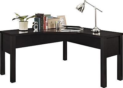 Altra Princeton L-Shaped Desk, Espresso (9820096)