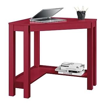 Altra Parsons Corner Desk, Red (9888196COM)