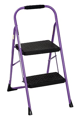 Cosco Two Step Big Step Folding Step Stool With Rubber