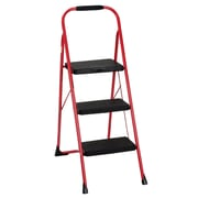 Cosco Three Step Big Step Folding Step Stool with Rubber Hand Grip (11408FST1E)