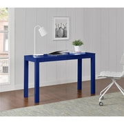 Altra Large Parsons Desk with 2 Drawers, Blue (9889596COM)