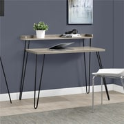 Altra Haven Retro Desk with Riser, Sonoma Oak/Gunmetal Gray (9881096COM)
