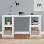 Altra Parsons Deluxe Desk, White (9318596COM)