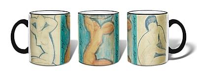 Retrospect Group Caryatids Ceramic 11 Ounce Mug (MUG095)