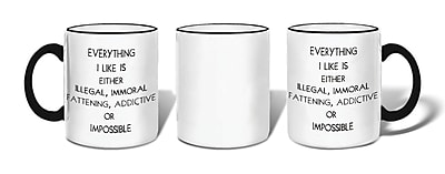 Retrospect Group IMPOSSIBLE Ceramic 11 Ounce Mug (MUG219)