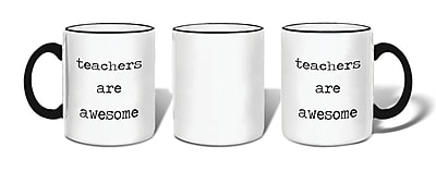 Retrospect Group teachers are awesome Ceramic 11 Ounce Mug (MUG132)