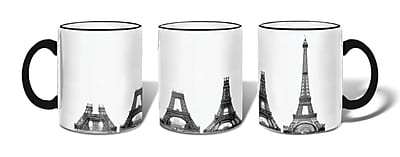 Retrospect Group CONSTRUCTION OF EIFFEL TOWER Ceramic 11 Ounce Mug (MUG047)