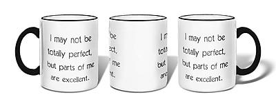 Retrospect Group I May Not Be Totally Perfect Ceramic 11 Ounce Mug (MUG061)