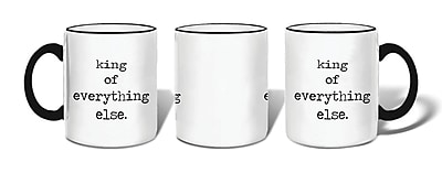 Retrospect Group king of everything else. Ceramic 11 Ounce Mug (MUG125)