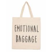 Retrospect Group Natural Canvas Emotional Baggage - RETROSPECT Tote Bag 16.5 x 14.57 x 4.33 (RETV055)
