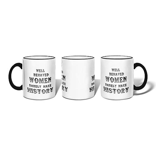 Retrospect Group WELL BEHAVED WOMEN Ceramic 11 Ounce Mug (MUG004)
