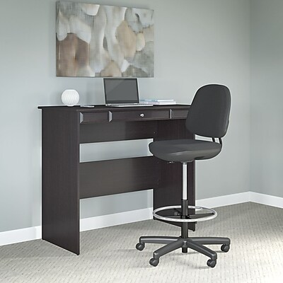 Bush Business Furniture Adjustable Stool, Black Leatherette (CH57513K)