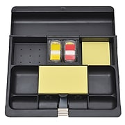Post-it® Desk Drawer Organizer, Black (C-71)