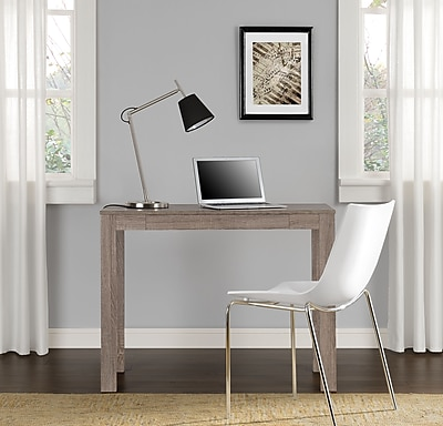 Altra Parsons Desk with Drawer, Sonoma Oak