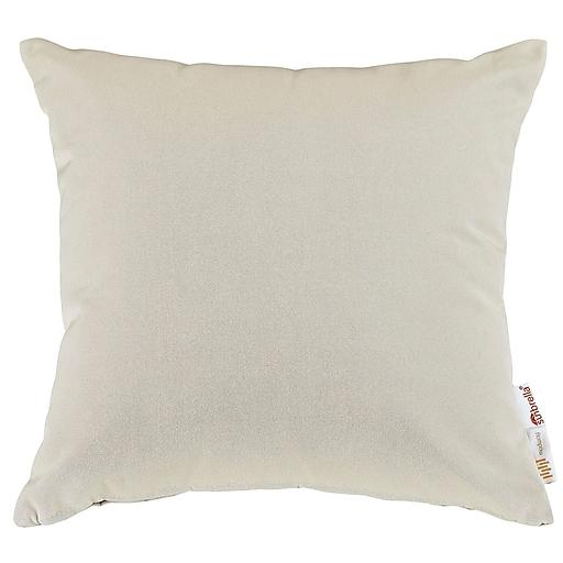 Summon 2 Piece Outdoor Patio Pillow Set in Beige (889654032052)