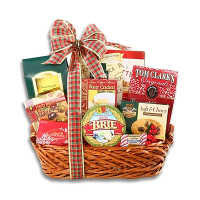 Alder Creek Gift Baskets Happy Holidays Gift Basket (FG07782)