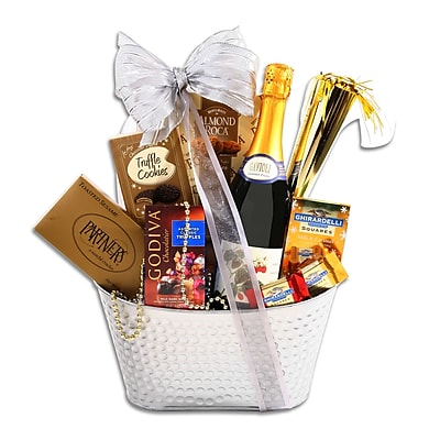 Sparkling New Year's Basket