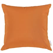 Convene Two Piece Outdoor Patio Pillow Set in Orange (889654031055)