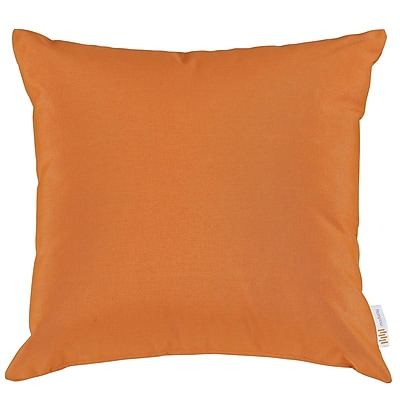 Convene Two Piece Outdoor Patio Pillow Set in Orange (889654031055)