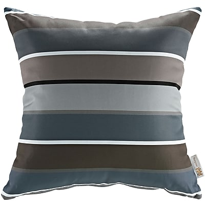 Modway Two Piece Outdoor Patio Pillow Set in Stripe (889654072218)