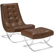 Modway Slope Living Room Set Set of 2 in Brown (889654074373)