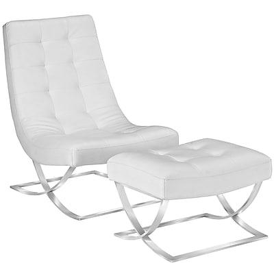 Modway Slope Living Room Set Set of 2 in White (889654074502)