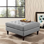 Modway Empress Bench in Light Gray (889654040897)