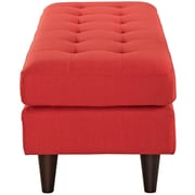Empress Fabric Bench in Atomic Red (889654040750)