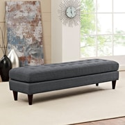 Modway Empress Bench in Gray (889654040682)