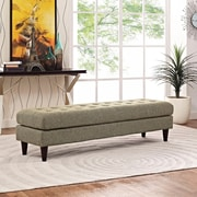 Modway Empress Bench in Oatmeal (889654040729)