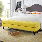 Modway Empress Bench in Sunny (889654040736)