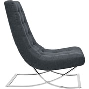 Slope Fabric Lounge Chair in Gray (889654039426)