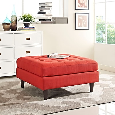 Modway Empress Bench in Atomic Red (889654040842)