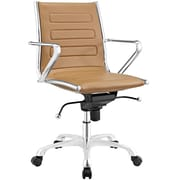 Modway Ascend Mid Back Office Chair in Tan (889654067689)