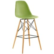 Pyramid Dining Side Bar Stool Set of 4 in Light Green (889654077176)