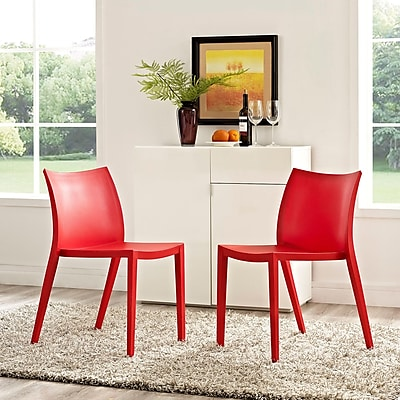 Gallant Dining Set, Set of 2 in Red (889654077015)