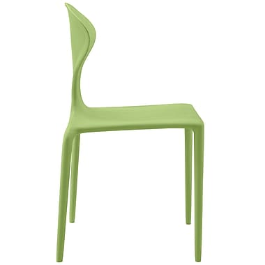 Draw Dining Side Chair in Green (848387082239)