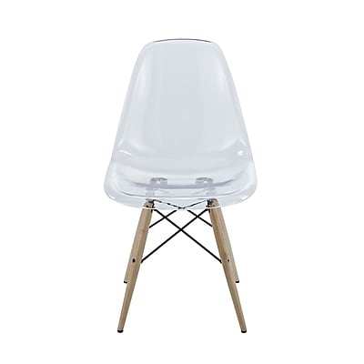 Pyramid Dining Side Chair in Clear (889654067733)