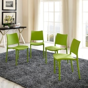 Hipster Dining Side Chair Set of 4 in Green (889654077251)
