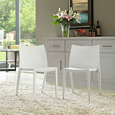 Gallant Dining Set, Set of 2 in White (889654077022)