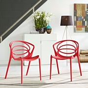 Locus Dining Set, Set of 2 in Red (889654069263)