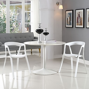 Tread Dining Set, Set of 2 in White (889654069478)