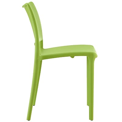 Hipster Dining Side Chair Set of 2 in Green (889654077213)